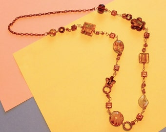 Copper and Lampwork - WOW - It glows