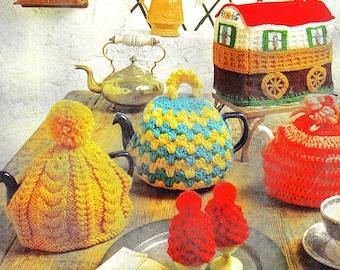 Campervan Tea Cosy Knitting Pattern : Trailer Etsy Studio
