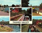 Great Britain - Thames Valley - Vintage International Postcards