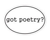 got poetry sticker