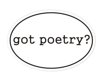 got poetry sticker