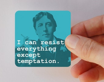 WILDE temptation square magnet