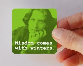 WILDE wisdom square magnet