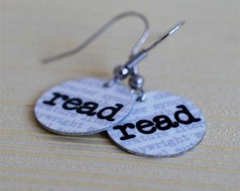 read earrings