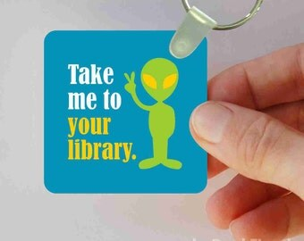 take me to your library keychain