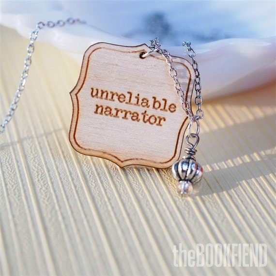 unreliable narrator necklace