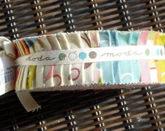 MoMo Wonderland Honey Bun fabric strips