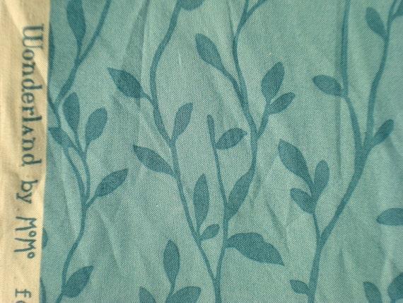 Momo wonderland garden party sky moda fabrics fq or more for Garden party fabric by blackbird designs