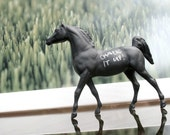 The Original Pint-Sized Chalkboard Horse