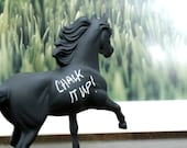 The Original Chalkboard Horse - Tauren