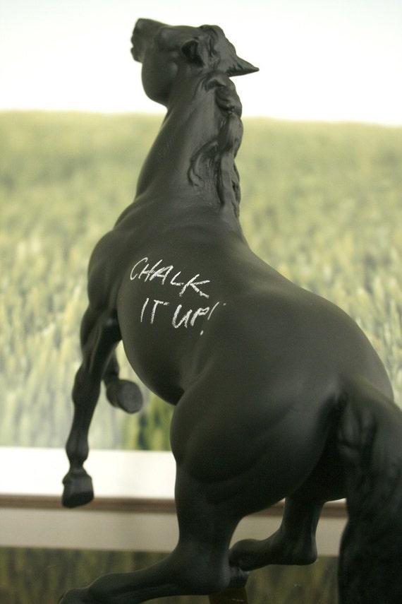 The Original Chalkboard Horse - Gisbourne