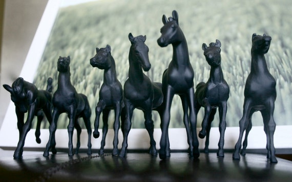 The Original One Word Whinnies Chalkboard Horses