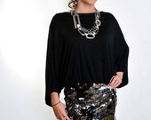 Silver Sequin casual dress by CWCouture