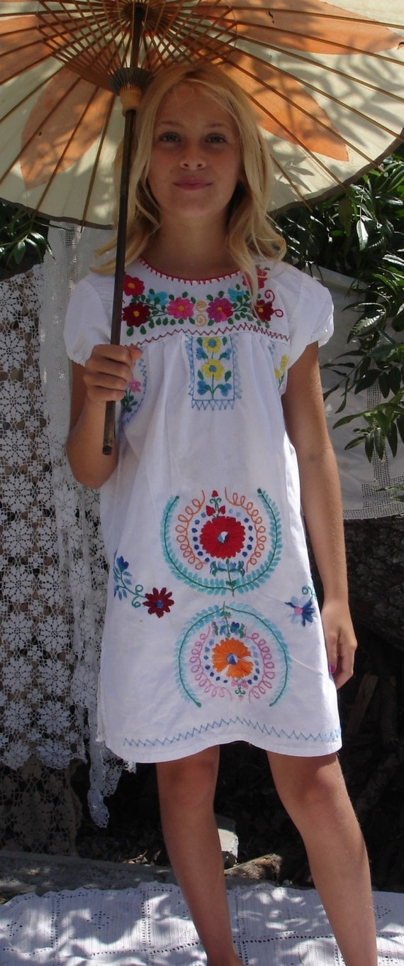items similar to so pretty vintage little girls mexican