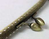 Sale-20pcs-20 cm  antique bronze  sewing coin purse frame bag frame clip clasp-18