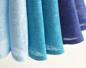 SALE 10% OFF Natural linen napkins. Set of 6.