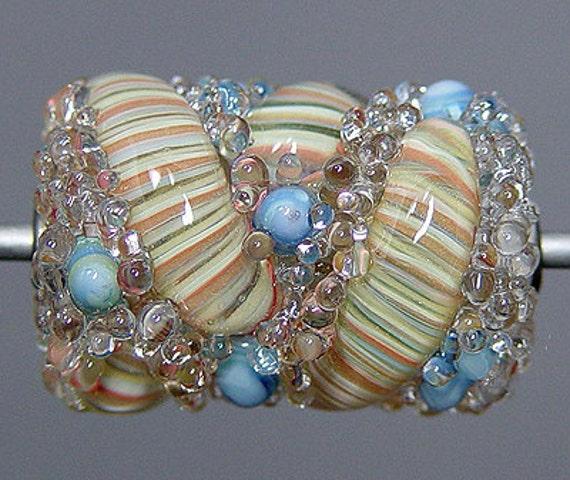 Boro Lampwork  Focal Bead  SALE