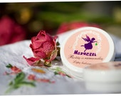Rose&chamomile Lip balm, Grapefruit Lip balm or Cacao Lip balm. 100% organic, from Marmozel