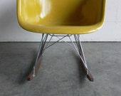 Reserved-Herman Miller Eames Fiberglass Arm Chair Rocker