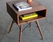 RESERVED LISTING-Mid Century Modern Inspired Side Table