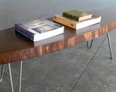 Mid Century Modern Eames Inspired Coffee Table-Walnut Finish