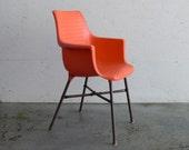 Vintage Plastic Scoop Chair