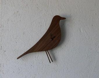 Mid Century Modern Inspired Clock-Eames Bird