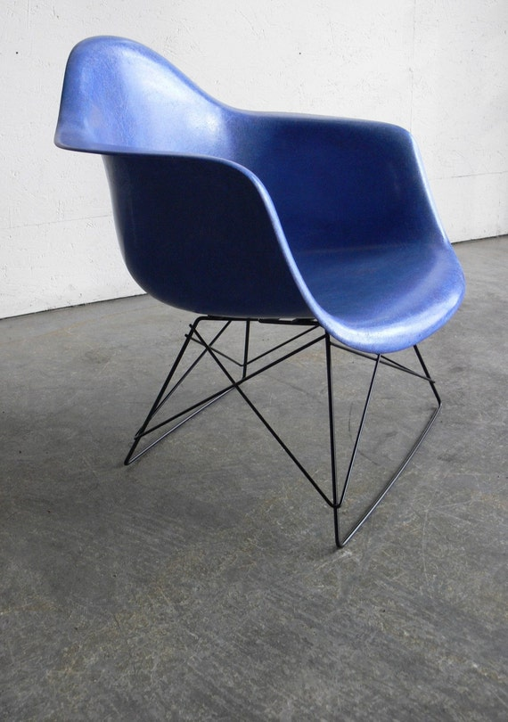 Herman Miller Eames Side Chair Low Lounge Cats Cradle