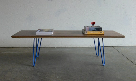 Mid Century Modern Eames Inspired Coffee Table-FREE SHIPPING