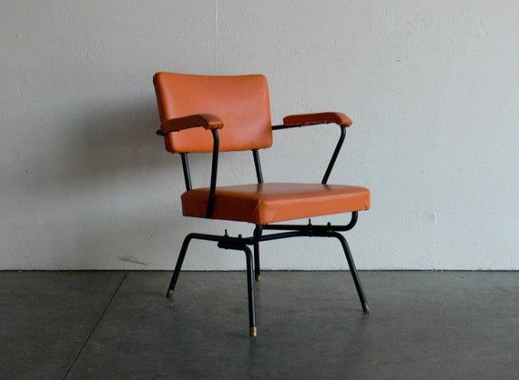 Vintage Mid Century Modern Lounge Chair