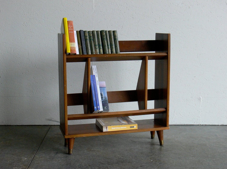 Vintage Mid Century Modern Bookshelf