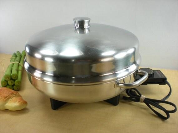 Farberware Electric Skillet Fry Pan Buffet Server By