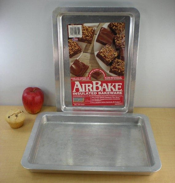 2 Rema Airbake Insulated Cake Brownie Baking Pan By
