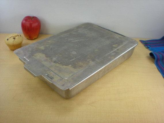 Aluminum Cake Pan With Sliding Lid