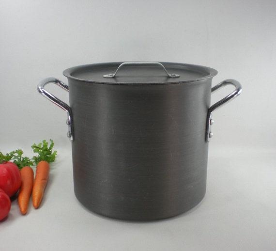 Pointerware Commercial Cookware Style 8 Qt Stock Pot - Anodized Aluminum