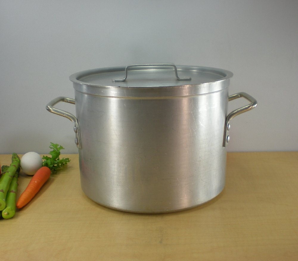 Stock Pot Leyse Vintage Commercial Nsf 10 Quart By
