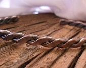 Mens or Womens Rope Cuff Bracelet