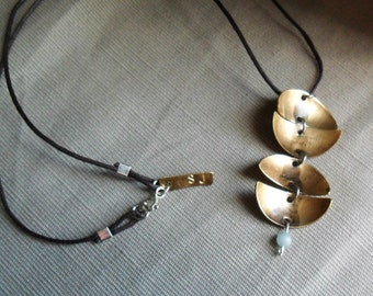 Necklace Cascading Moons