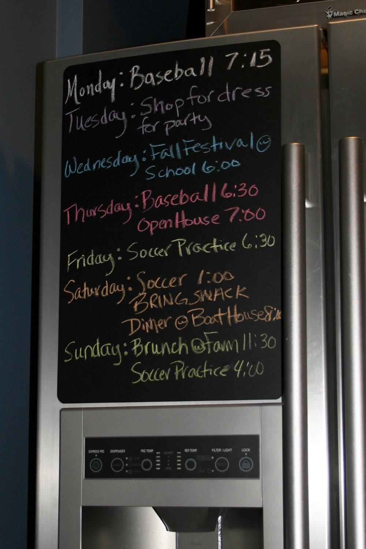 Chalkboard Refrigerator Sticker Chalkboard Cabinet Sticker