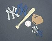 New York Yankees Baseball Scrapbook Cutouts - 31 Piece Set