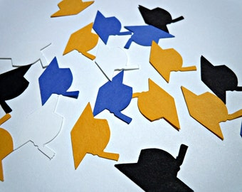 Custom Graduation Cap Confetti- Choose Your Colors