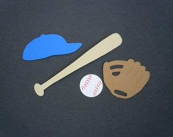 Baseball Scrapbook Cutouts - 20 Piece Set