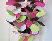 Baby Mobile in Pink Berry Vine