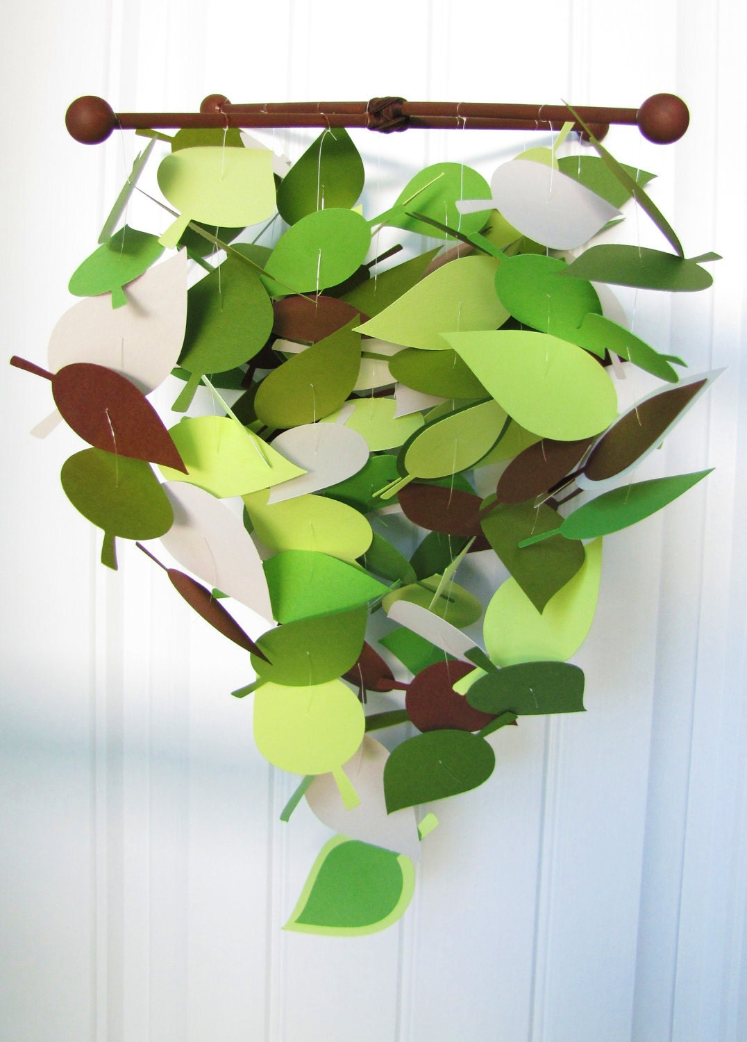 Baby Mobile Cascading Leaves In Spring By Jennaebee13 On Etsy
