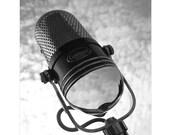 "Calrad 500c Vintage Microphone -  8.5"" x 11"" Fine Art Photograph"