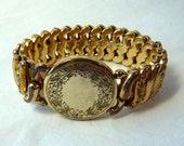 Vintage American Queen Victorian Expansion Band Bracelet