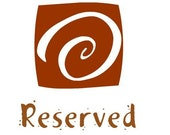 Reserved for Judi