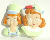 Cute Dutch Boy and Girl Wall Hangings