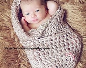 Only Coccon Newborn Baby wrap Photo prop in Browns Photography Prop Babies Infant girl boy Photo shoot Newborns PERFECT GIFT New Baby photo