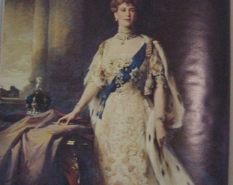 Queen Mary 1867-1953 by James Pope-Hennessy 1960 edition